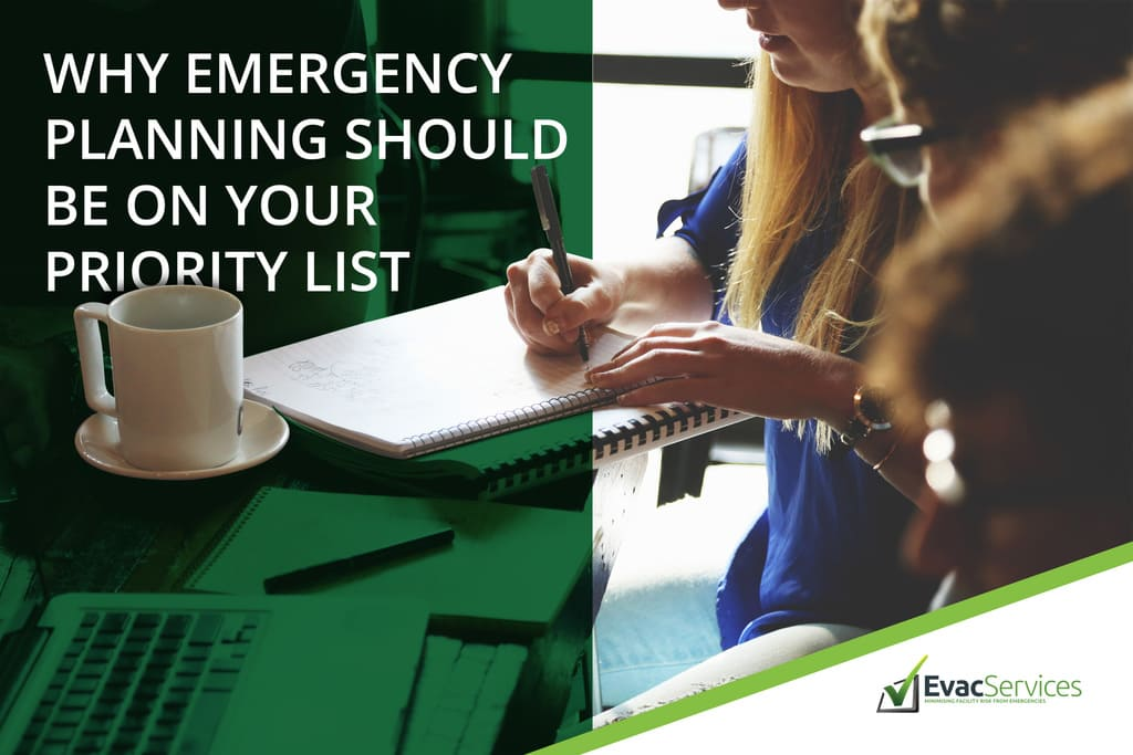 Emergency planning Priority