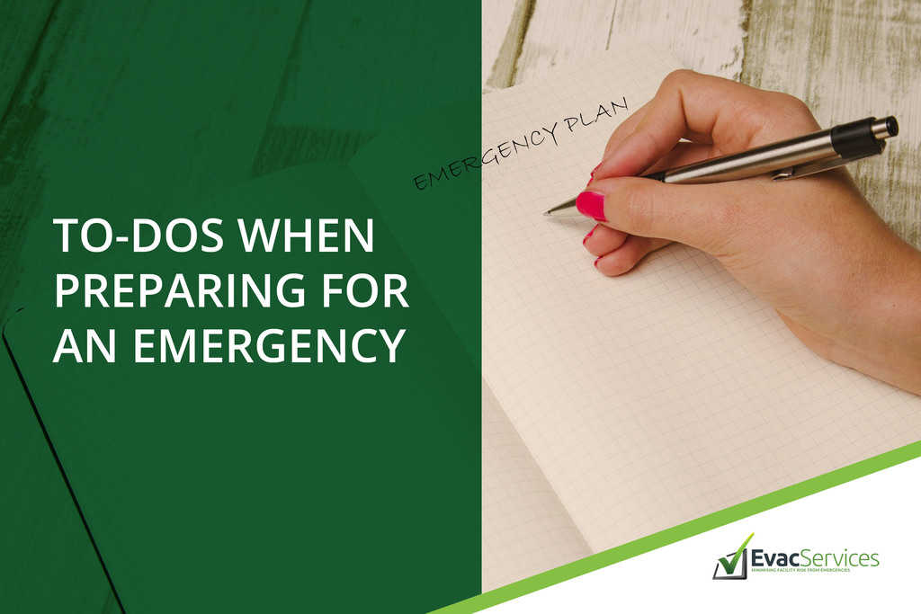 preparing for an emergency
