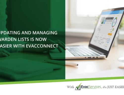 Updating Warden Lists is Now Easier with EvacConnect